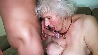 Curvy 91 realm old mom fucked by toyboy