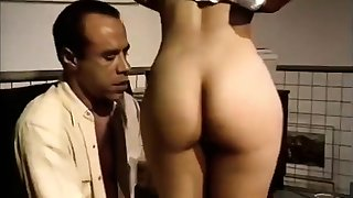Classic Vintage B W Flannel Suck Blowjob