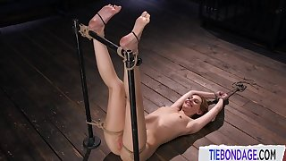 Small titted Teenie Canned Coupled with Restrained